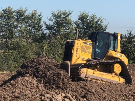 Towens new CAT D6 Blade in action